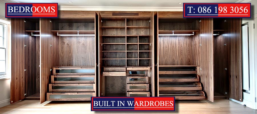 Built In Wardrobes designed and created by Mallow Joinery