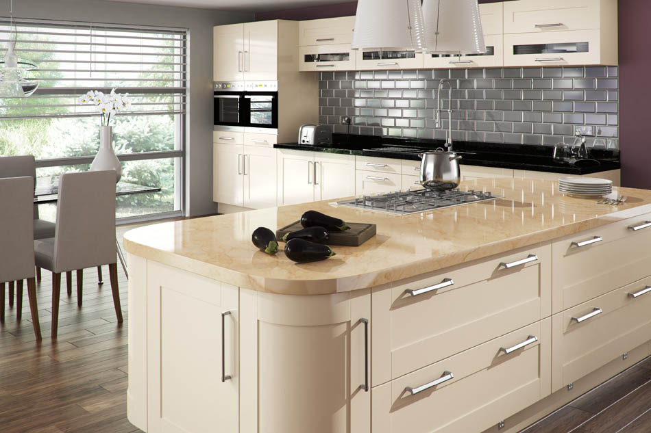 Cream kitchens cork cream kitchens ireland cream for Fitted kitchen ideas