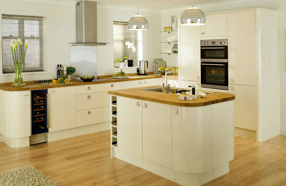 Cream kitchens cork cream kitchens ireland cream for Kitchen pictures