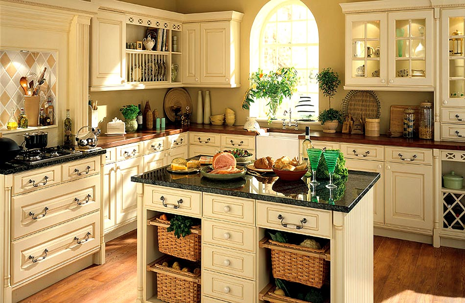 Cream kitchen designs ireland for Cream kitchen ideas