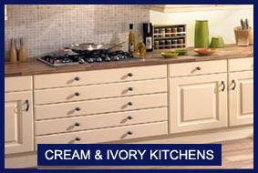 Cream Kitchens and Ivory Kitchens