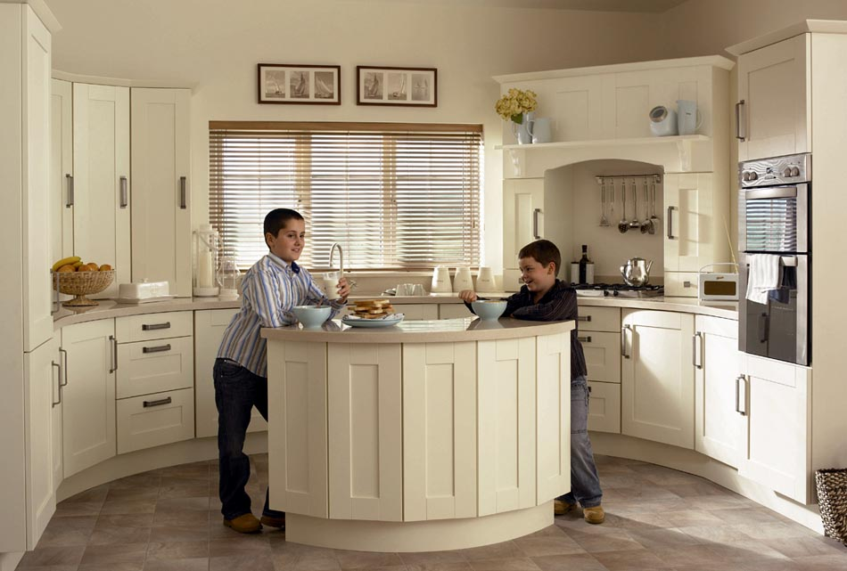 Attirant Ivory Kitchen Designs ...
