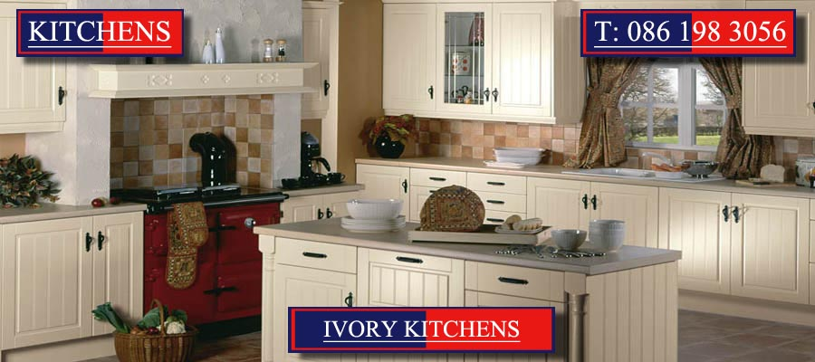 Ivory Kitchens and Ivory Fitted Kitchens designed and created by Mallow Joinery