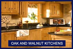 Oak Kitchens and Walnut Kitchens
