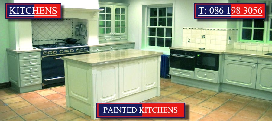 Painted Kitchens and Painted Kitchen Cabinets designed and created by Mallow Joinery
