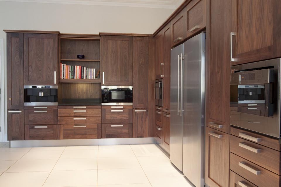 Walnut kitchens cork walnut kitchens ireland walnut for Kitchen designs cork