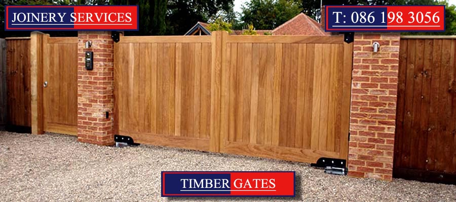 Entrance Gates and Timber Gates in Cork by Mallow Joinery