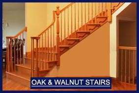 Oak Stairs and Walnut Stairs