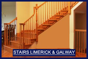 Stairs Limerick and Stairs Galway